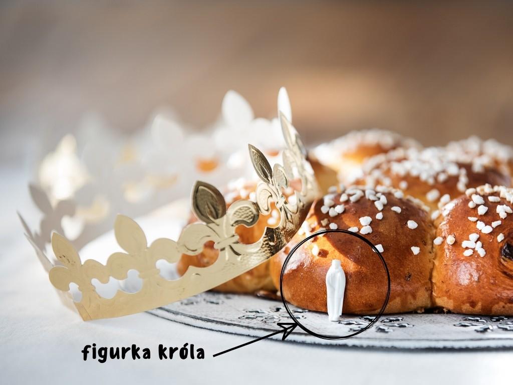 Roscón de Reyes ciasto Trzech Króli